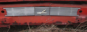 1958 Lincoln Premier 2 Door Hard Top Rear Grill Sections Between Tail Lights