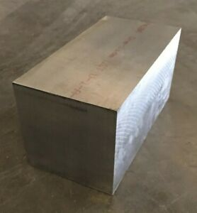 6 Thickness 7075 T651 Aluminum Square Bar Plate 6 X 6 X 12 Length
