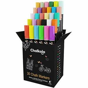 Liquid Chalk Markers Pack Of 30 neon Classic Pens For Chalkboard Window