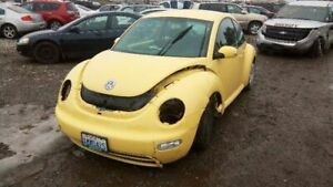 Rear View Mirror With Digital Clock Fits 02 05 Beetle 5047178