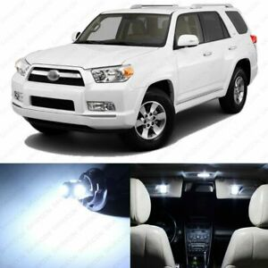 19 X White Led Interior Lights Package For 2003 2019 Toyota 4runner Pry Tool