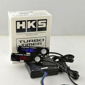 Hks Universal Digital Auto Car Type 0 Turbo Timer With Blue Led Display Logo