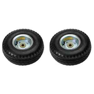 10 Pneumatic Wheel For Hand Truck 2 Pack
