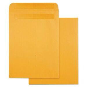 Quality Park High Bulk Self sealing Envelopes 9 X 12 Kraft 100 Per Box