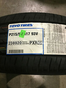 4 New 215 55 17 Toyo Proxes R35 Tires