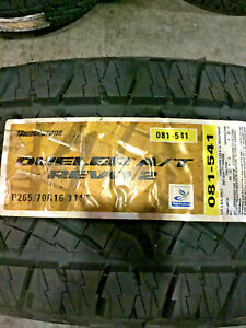 2 New 265 70 16 Bridgestone Dueler A T Revo 2 Tires