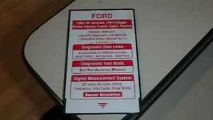 Ford 1984 92 Ngs Scan Tool Diagnostic Card Dq3