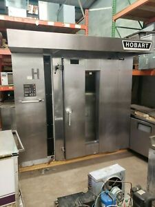 Hobart Double Rack Oven Dro2g natural Gas warranty One Double Rack Included