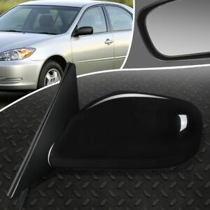 For 02 06 Toyota Camry Oe Style Powered heated Driver Left Side View Door Mirror