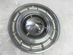 1960 Buick 15 Inch Nearly Perfect Hub Cap Wheel Cover Nice Cool Wow Vintage Auto