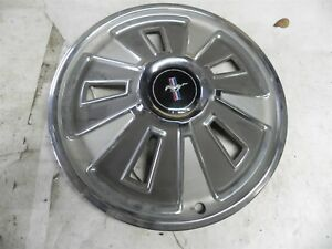 1966 Ford Mustang 14 Inch Hub Cap Wheel Cover Very Nice Original Nice Cool Wow