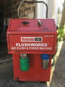 Rotunda Flush Works Ac Flush And Purge Machine