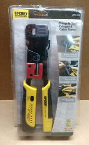 Sperry Instruments Gmc 3000 Modular Crimper Cable Tester