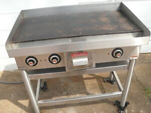 Vulcan Commercial 36 Heavy Duty Electric Griddle On Stand Model Heg 36s 3