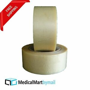 Pvc Packing Tape 2 X 110 Yard 330 Ft Clear 2 1 Mil Tensile Strength 252 Rolls
