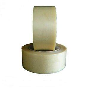 288 Rolls Clear Pvc Packing Tape Premium Adhesive Tapes 2 1 Mil 2 X 110 Yards