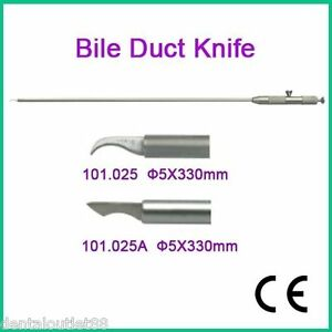 Laparoscopy Equipment Medical Bile Duct Knife 5x330mm Endoscopy New Fda