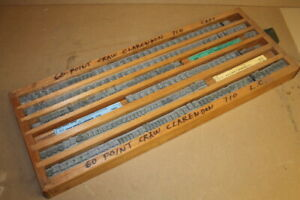 Type Die Set Craw Clarendon 60 Pt Upper And Lower Hot Foill Stamping