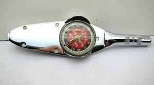Snap On Torqometer 3 8 Drive 0 150in Lbs Dial Torque Wrench Te 12a