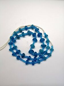 Ancient Old Roman Glass Beads Square Collect Necklace Pcs Mixed Size Roman