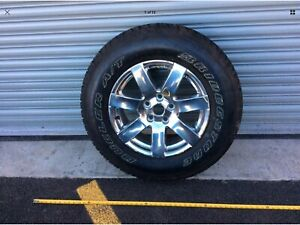 12 17 Jeep Wrangler Wheel Rim 18 W Tire Bridgestone 255 70 R18 Ar 2