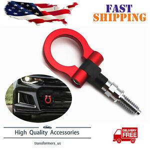 Red Track Racing Jdm Style Cnc Aluminum Tow Hook For Chevrolet Camaro 2016 2019