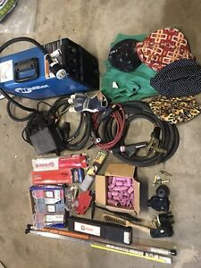 Miller Cst 280 Tig stick Welder With A Bunch Of Extra Accessories