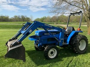 2003 New Holland Tc30 Loader Tractor 4x4 30hp