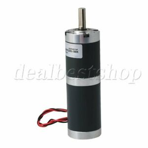 Dc12v 18rpm Low Speed Gear Box Electric Planetary Dc Geared Motor