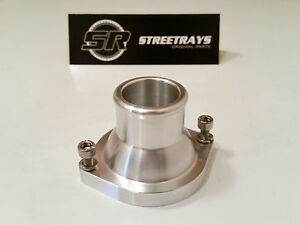 sr Chevy Gm Ls Engine Billet Straight Thermostat Housing Water Neck Ls1 Ls2