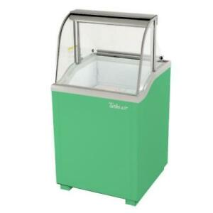 Turbo Air Tidc 26g n 26 In Green Ice Cream Dipping Cabinet