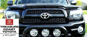 New Oem Toyota Tacoma Sport 05 2012 Black 202 Painted Honeycomb Grille
