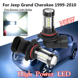 Led Car Bulb Fog Lights White Hb3 9005 Led Lamp For Jeep Grand Cherokee 99 10 2x