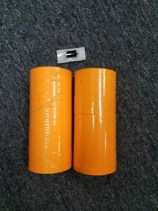 Fluorescent Orange Labels For Monarch 1110 Pricing Gun 32 Rolls 2 Sleeves