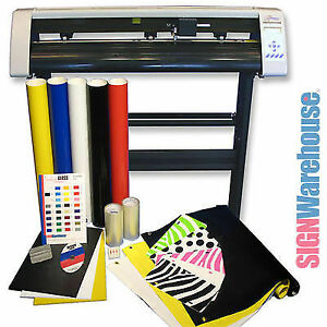 Starter Bundle Kit 31 Vinyl Cutter Machine W software Vinly Sign Plotter Great