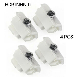 Set Of 4 For Infiniti Led Logo Laser Cree Car Door Courtesy Welcome Shadow Light