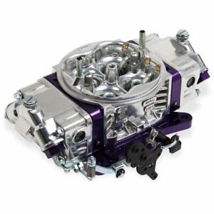 Holley 0 67199pl Aluminum Track Warrior Carburetors 650 Cfm Mechanical Secondari