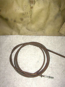 1957 Nash Ambassador Speedometer Cable Core With Manual Transmission
