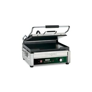 Full size Flat Panini Grill Tostato Supremo Toasting 120v Waring Wfg275