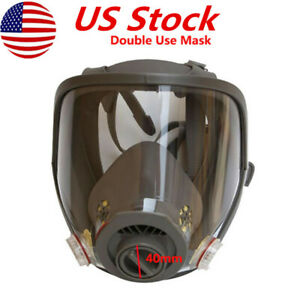 Us Update 6800 Full Face Gas Mask F Respirator Facepiece Spraying Painting Mask