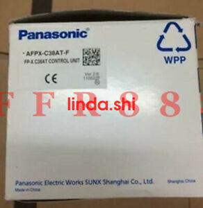 New Panasonic Nais Plc Afpx c38at f m05un