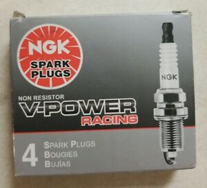 Ngk R5671a 9 5238 V Power Racing Turbo Nitrous Spark Plugs Qty 4 Ships Fast New
