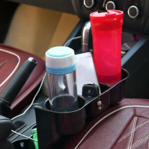 Car Truck Cup Holder Drink Beverage Mount Seat Seam Wedge Storage Organizer