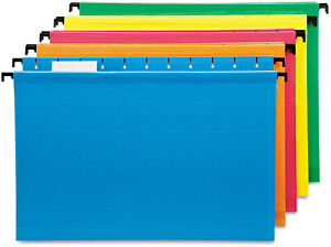 Pendaflex Hanging File Folder Colored Legal Size Document Organizer Holder 20 Pc