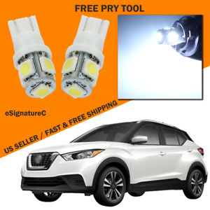 8 X White Led Interior Light Package For 2017 2019 Nissan Kicks Pry Tool