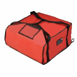 Rubbermaid Fg9f3700red Proserve Large Red Pizza Delivery Bag