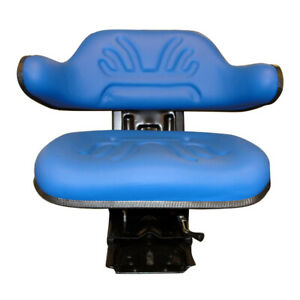 New Multi Angle Blue Wrap Around Seat Lawn Garden Tractor Mower Industrial