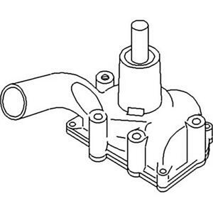 160927as White Oliver Water Pump With Pulley 1550 1555 2 44 2 62 550 190460