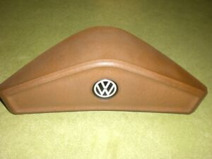 Vw Mark 1 A1 Rabbit 1974 1984 Steering Wheel Tan Horn Button Pad Used