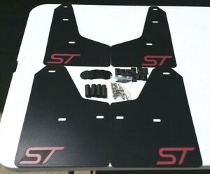 Sale sr 11 18 Ford Focus St Se S Mud Guard Flaps Set Black W Logo